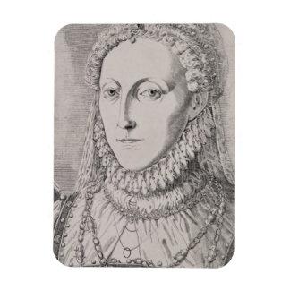 Queen Elizabeth I (1533-1603), c.1572-75 (engravin Magnet