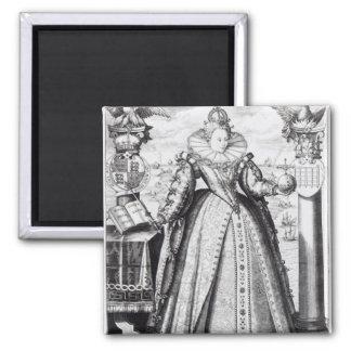 Queen Elizabeth I  1596 Magnet