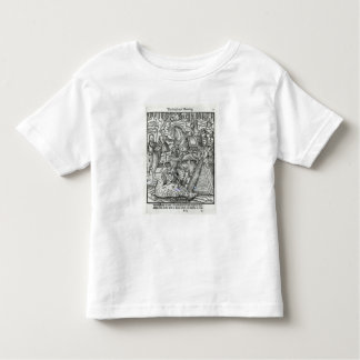 Queen Elizabeth I  at a stag hunt Toddler T-shirt