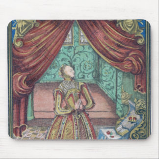 Queen Elizabeth I at Prayer, frontispiece Mouse Pad