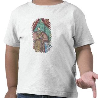 Queen Elizabeth I at Prayer, frontispiece T-shirts