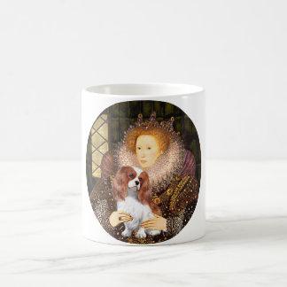 Queen Elizabeth I - Blenheim Cavalier Coffee Mugs