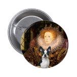 Queen Elizabeth I - Boston T #1 Button