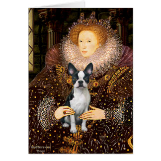 Queen Elizabeth I - Boston T #1 Card