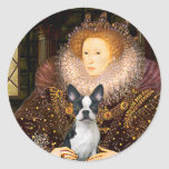 Queen Elizabeth I - Boston T #1 Classic Round Sticker