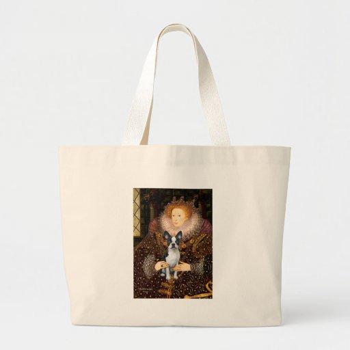 Queen Elizabeth I - Boston T #1 Tote Bags