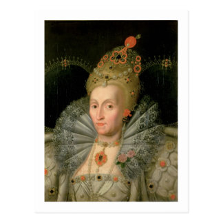 Queen Elizabeth I (bust length portrait) (see also Postcard