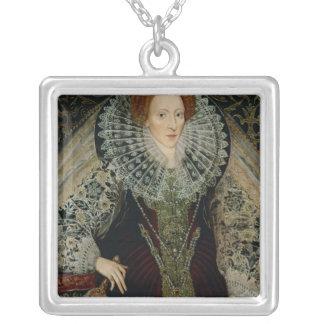 Queen Elizabeth I, c.1585-90 Silver Plated Necklace