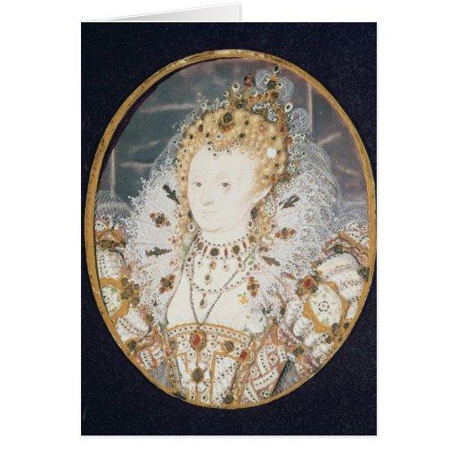 Queen Elizabeth I, c.1595-1600 Card