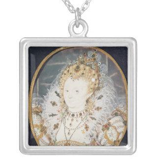 Queen Elizabeth I, c.1595-1600 Silver Plated Necklace