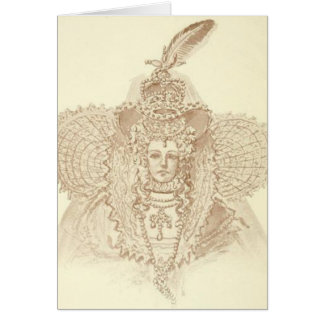 Queen Elizabeth I Card