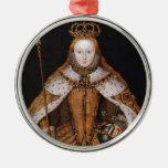 Queen Elizabeth I Christmas Tree Ornaments