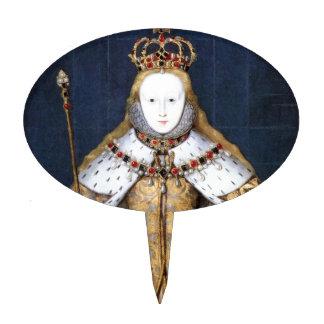 Queen Elizabeth I: Coronation Cake Pick