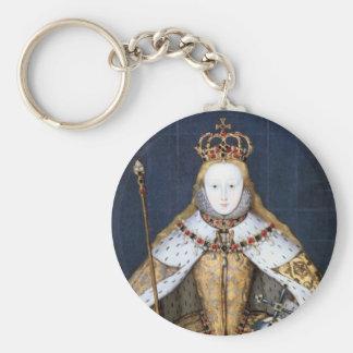Queen Elizabeth I: Coronation Keychains