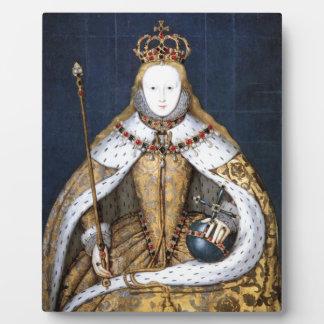 Queen Elizabeth I: Coronation Plaque