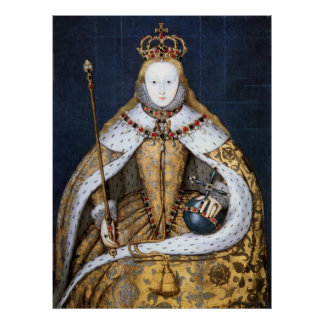 Queen Elizabeth I: Coronation Poster