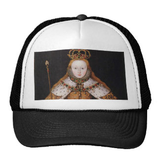 Queen Elizabeth I Trucker Hats