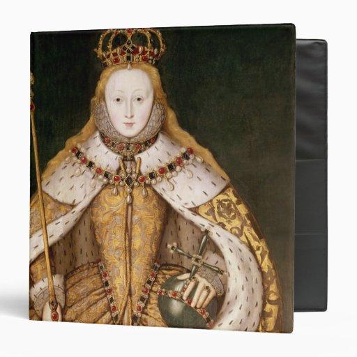 Queen Elizabeth I in Coronation Robes Binder