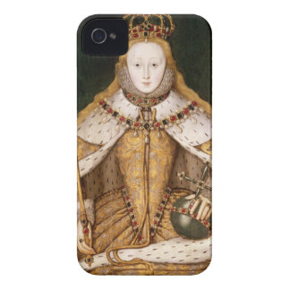 Queen Elizabeth I in Coronation Robes Case-Mate iPhone 4 Cases