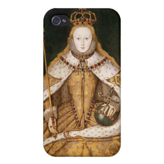 Queen Elizabeth I in Coronation Robes Cases For iPhone 4