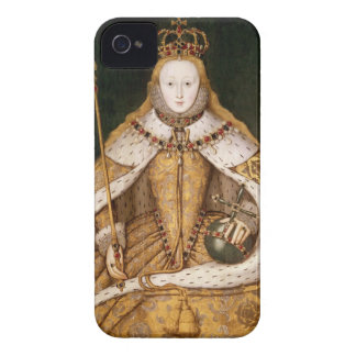 Queen Elizabeth I in Coronation Robes iPhone 4 Cover