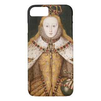 Queen Elizabeth I in Coronation Robes iPhone 7 Case