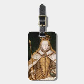 Queen Elizabeth I in Coronation Robes Luggage Tag