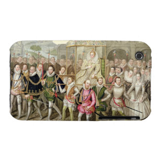 Queen Elizabeth I in procession with her Courtiers Case-Mate iPhone 3 Case