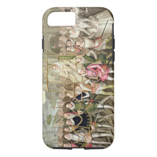 Queen Elizabeth I in procession with her Courtiers iPhone 7 Case