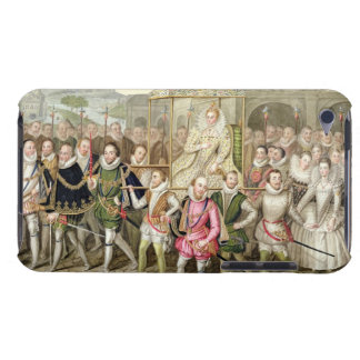 Queen Elizabeth I in procession with her Courtiers iPod Case-Mate Case