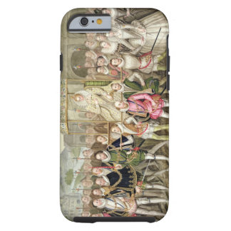 Queen Elizabeth I in procession with her Courtiers Tough iPhone 6 Case