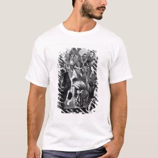 Queen Elizabeth I  Knighting Francis Drake T-Shirt