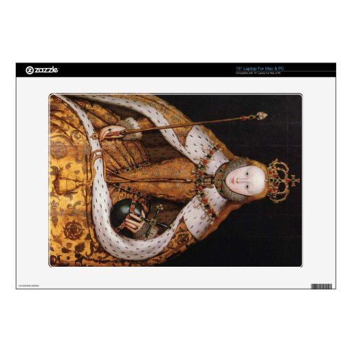 Queen Elizabeth I Laptop Decal