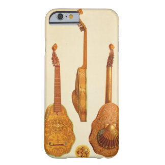 Queen Elizabeth I lute by John Rose, 1580, from 'M Barely There iPhone 6 Case