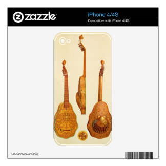 Queen Elizabeth I lute by John Rose, 1580, from 'M Decals For iPhone 4S
