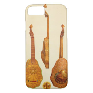 Queen Elizabeth I lute by John Rose, 1580, from 'M iPhone 7 Case