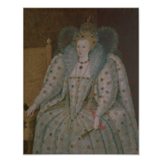 Queen Elizabeth I of England and Ireland Poster