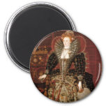 Queen Elizabeth I of England Magnets