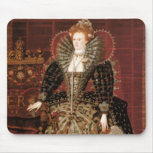 Queen Elizabeth I of England Mouse Pad