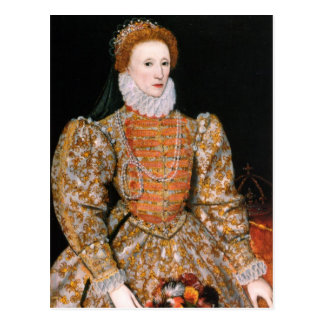Queen Elizabeth I of England Post Cards