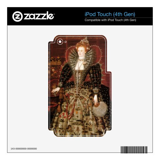 Queen Elizabeth I of England iPod Touch 4G Skin
