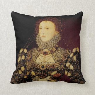 Queen Elizabeth I Throw Pillow