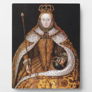 Queen Elizabeth I Plaques