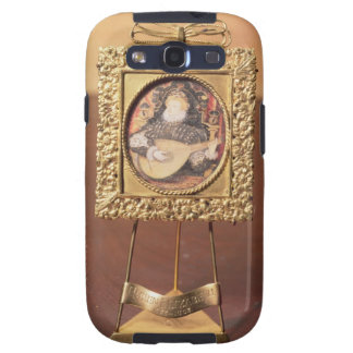 Queen Elizabeth I playing the lute (miniature incl Samsung Galaxy S3 Cases
