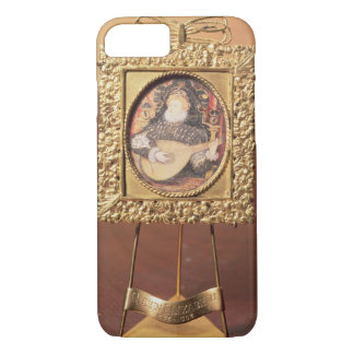 Queen Elizabeth I playing the lute (miniature incl iPhone 7 Case