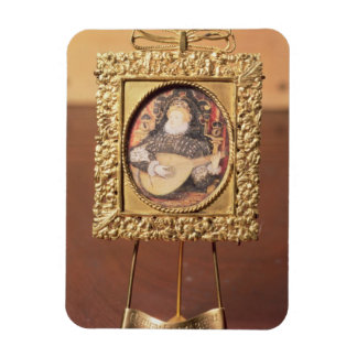 Queen Elizabeth I playing the lute miniature incl Flexible Magnet