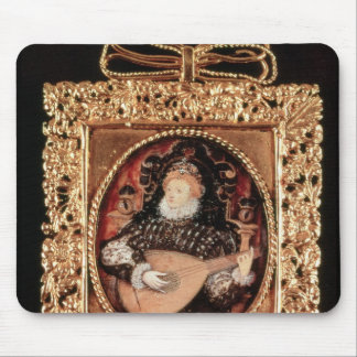 Queen Elizabeth I playing the lute Mouse Pad