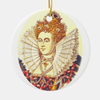 Queen Elizabeth I, QE1, The First Ceramic Ornament