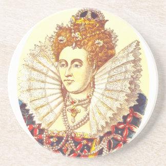 Queen Elizabeth I, QE1, The First Drink Coaster