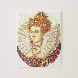 Queen Elizabeth I, QE1, The First Jigsaw Puzzle